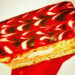 Strawberry Mille Feuille $2.50 (#112)