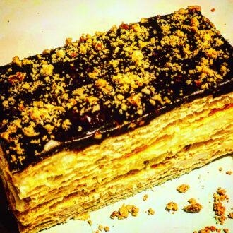 Chocolate Peanut Mille Feuille $2.50 (#116)