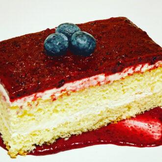 Vanilla Blueberry Gateau $2.50 (#342)